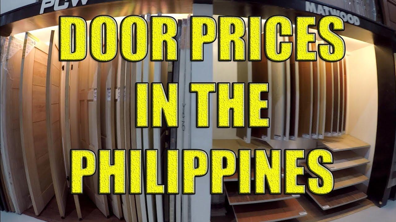 Door Prices In The Philippines Youtube