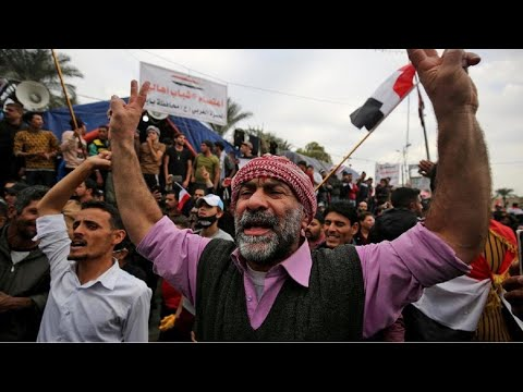 العراق: مقتل متظاهرين في بغداد بيد مسلحين -مجهولين- سيطروا على مبنى كان يحتله المحتجون  - 08:00-2019 / 12 / 7