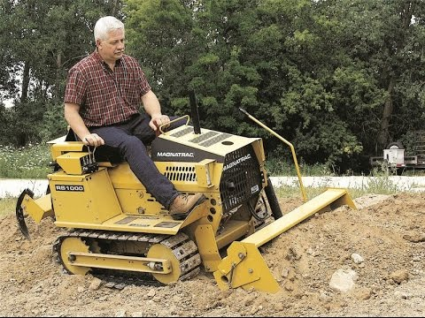 Struck Magnatrac Rs1000 Compact Crawler Tractor