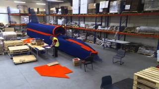 Watch as the world's largest K'NEX structure is built!