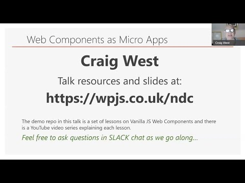 Web Components as Micro Apps