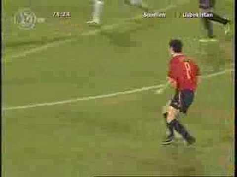 Gol de Iniesta a Uzbekistán (Mundial Sub-20)