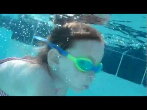 Five year old learns the Four Olympic Strokes with Jackie Nelson Doyle