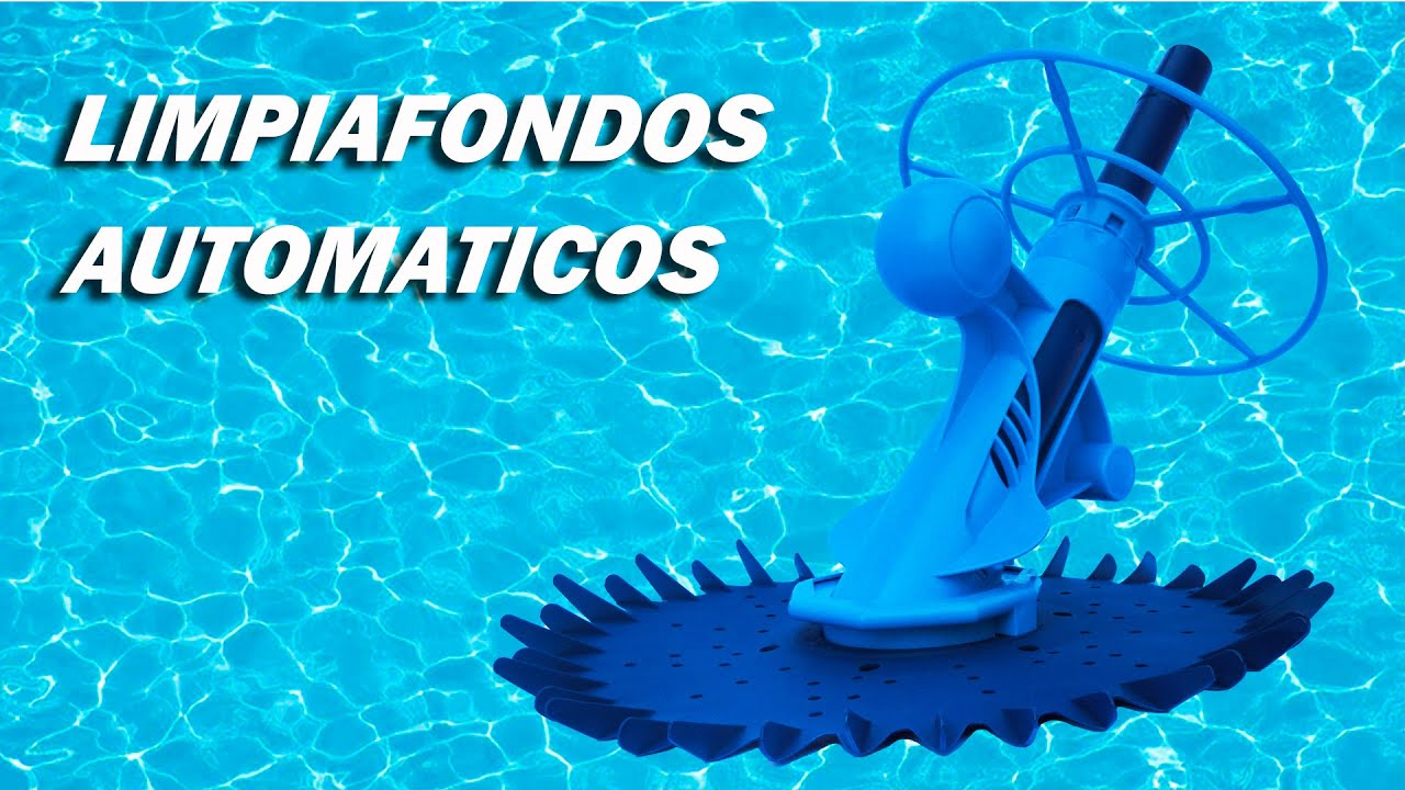 Limpiafondos autom ticos para piscinas youtube for Limpiafondos piscina desmontable