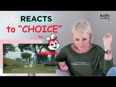 Kelly Reacts to Choice /Jollibee Commercial