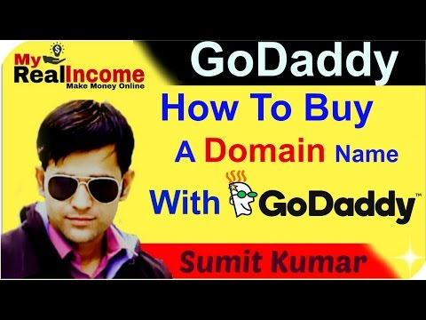 How To Buy Domain Name With GoDaddy !!