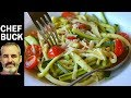 Fast Zucchini Zoodles Recipe NO Spiralizer Needed