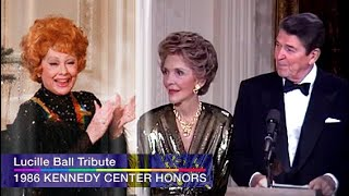 Pres. Reagan honors Lucille Ball - Unaired Ceremony, The Kennedy Center Honors