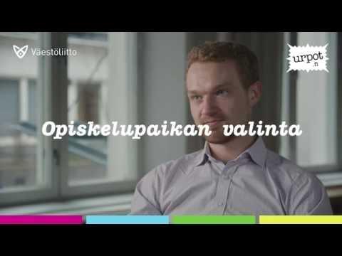 Heikki Koponen: Opiskelupaikan valinta
