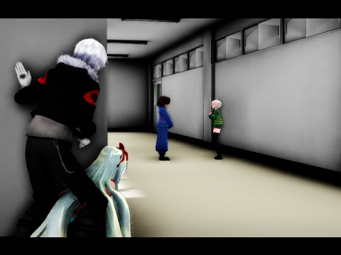 MMD undertale prank time