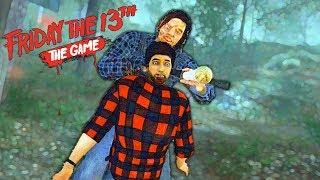 Friday the 13th: The Game —ЗАПИНАЛИ ДЖЕЙСОНА И ЗАКРУТИЛИ ГОЛОВУ.