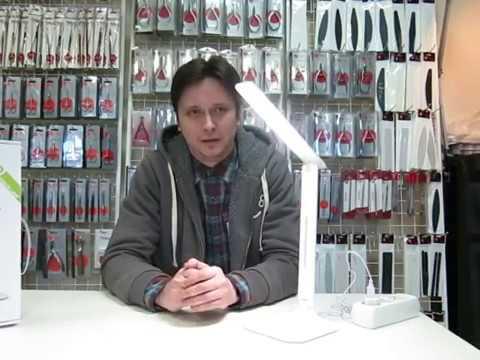 Настольная светодиодная лампа для маникюра