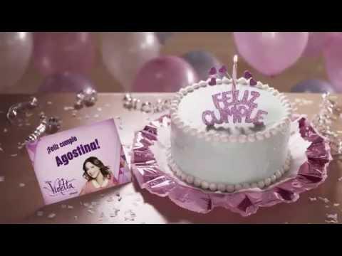 Violetta Personal Birthday Cake