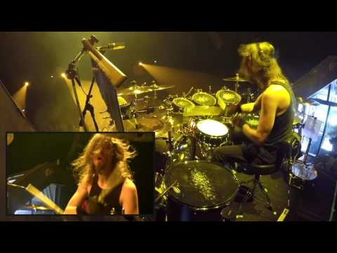 "Megadeth - Dirk Verbeuren drumcam - ""The Threat Is Real"" live in Groningen, 2016 Thumbnail image"