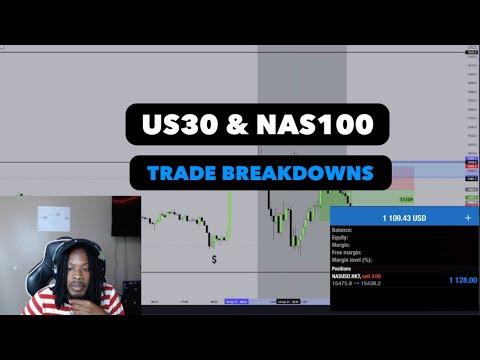 NAS100 & US30 TRADE BREAKDOWNS – Mid Week Review | (FOREX)