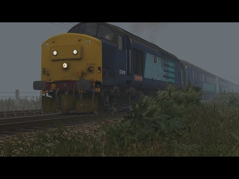 Train Simulator: wherry lines | class 37 | great yarmouth to norwich