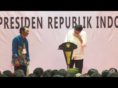 Dijamin Ngakak, Presiden Jokowi Sampai Gak Bisa Berhenti Ketawa Mendengar Jawaban Lucu Petani