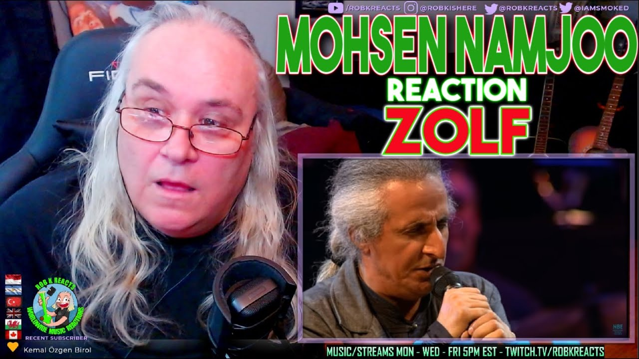 Mohsen Namjoo Reaction - Zolf - First Time Hearing - Requested