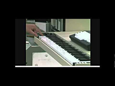 BBC Tomorrow's World Fairlight CMI from 1980 Kieran Prendiville