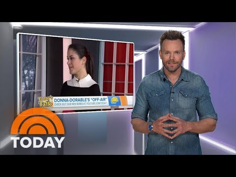 Joel McHale Teases 'Donnadorable' With Actor Jason Priestley | TODAY