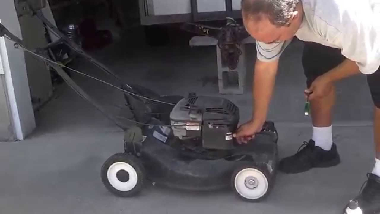 Lawn mower starting with starting fluid youtube lawn mower starting with starting fluid sciox Image collections