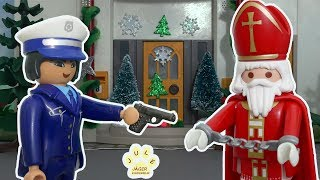 Playmobil Film deutsch - Wird der Nikolaus verhaftet? - Kinderfilm mit Jule Jäger