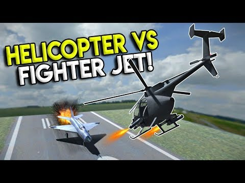 HELICOPTER TAKES OUT JET FIGHTER! - Disassembly 3D Gameplay - EP 9