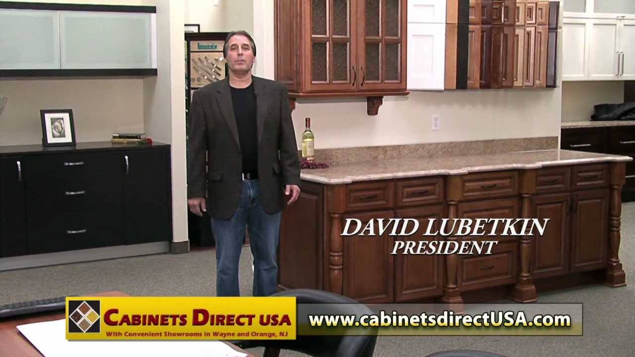 cabinets direct usa - 2013 tv commercial starring david lubetkin