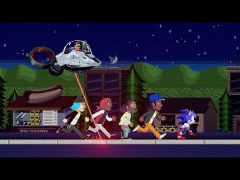 Wiz Khalifa, Ty Dolla $ign, Lil Yachty & Sueco the Child - Speed Me Up (Sonic The Hedgehog) [Video]