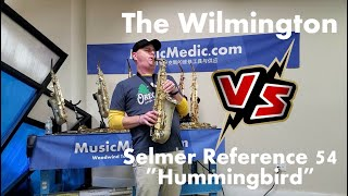 The Wilmington Alto vs a Selmer Reference 54 Hummingbird with Musician Max Snyder