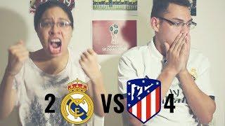 Reacción Real Madrid vs Atletico de Madrid 2-4 (16/08/18) Supercopa de Europa 2018