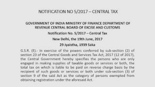 Exemption from GST Registration [hindi] by CA Somil Bhansali
