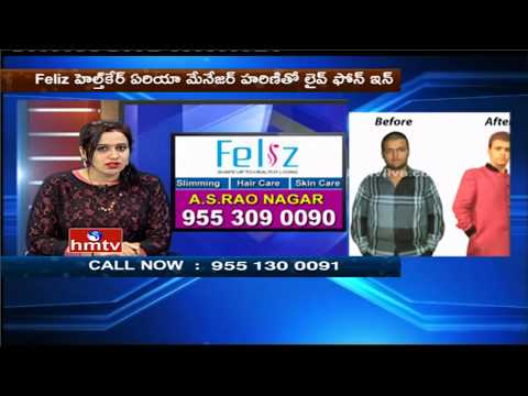 Weight Loss Tips & Solutions By Slimming Expert Harini | Feliz Health Care Center | 19-05-17 | HMTV