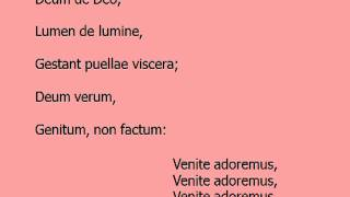Adeste Fideles lyrics.MP4