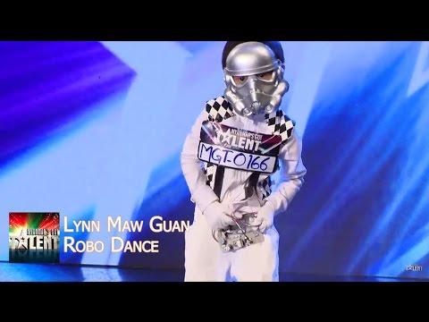 Lyn Maw Guan - Robo Performance || Myanmars Got Talent Season 3