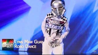 Lyn Maw Guan - Robo Performance || Myanmar's Got Talent Season 3