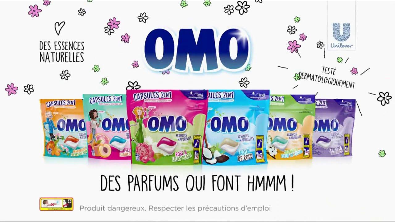 """Musique de la pub Omo capsules 2 en 1 """"des parfums qui font hmmm !""""  2021"""