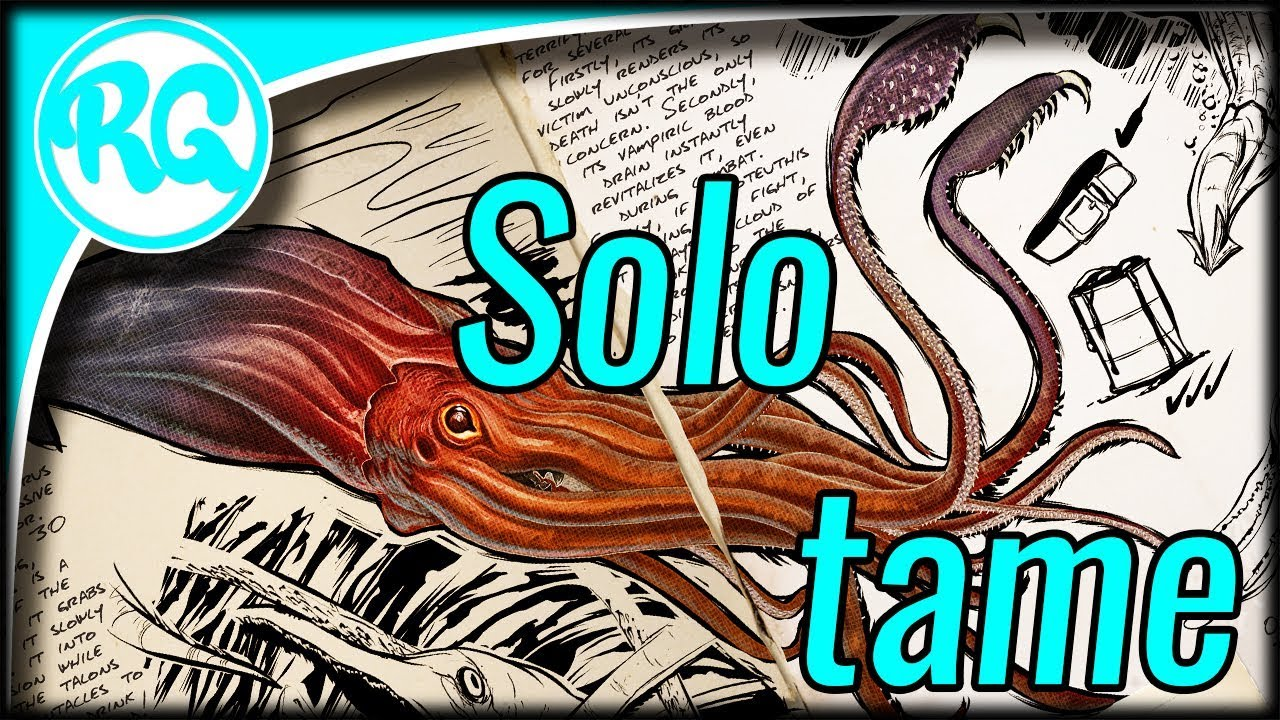 How To SOLO Tame a Tusoteuthis! (As Fast as Possible)