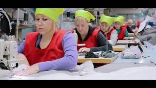 видео Массовое производство трикотажной одежды