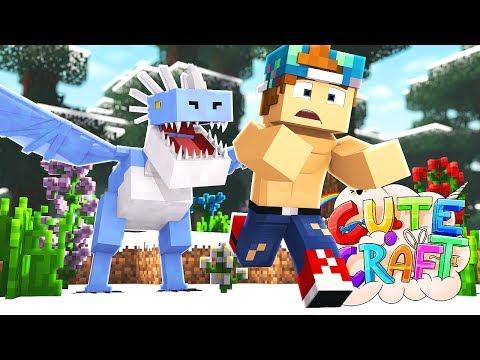 KILLING THE ICE DRAGON!?   CuteCraft #14