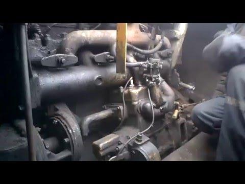 Заводим драглайн Э-652
