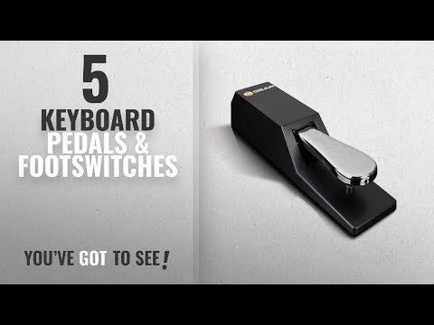 Top 10 Keyboard Pedals & Footswitches [2018]: M-Audio SP-2 | Universal Sustain Pedal with Piano