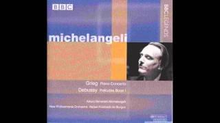 Grieg, Piano Concerto in A minor - III. Allegro moderato molto e marcato - Michelangeli, de Burgos