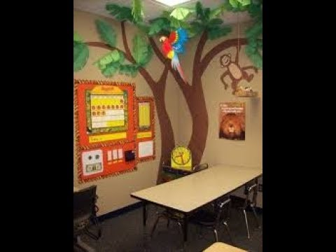 Ideas para ambientar decorar el salon de clases youtube for Decoracion de puertas infantiles