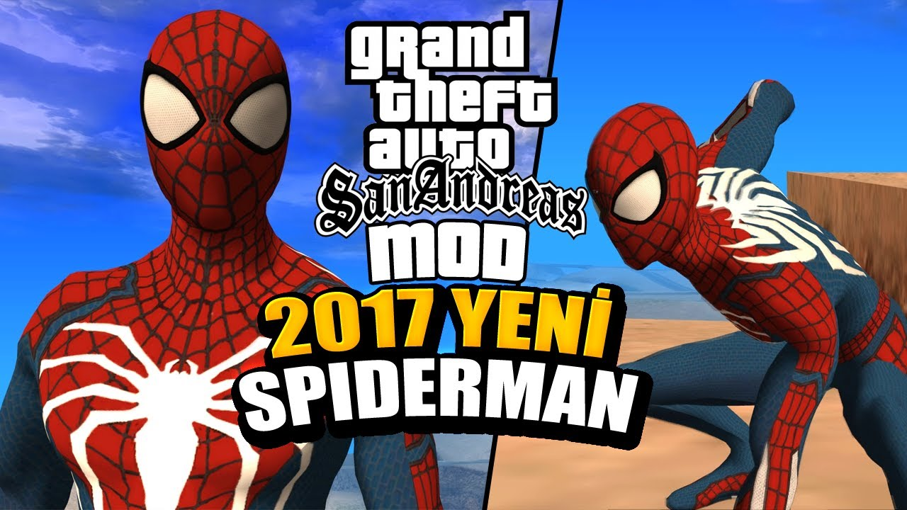 GTA: San Andreas Mod Adds Spider-Man PS4's Peter Parker