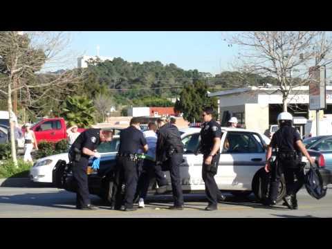 Glendale California Police Brutality 2/15/10