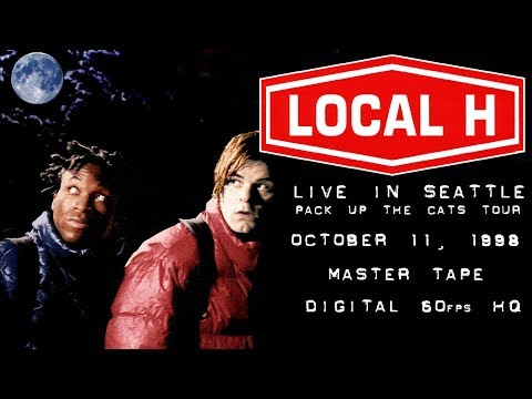 Local H Live in Seattle WA. 1998 Master Tape Digital 60fps 1080p HD