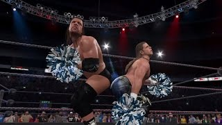 Triple H and Shawn Michaels (DX) Entrance as Funkadactyls (WWE 2K15 Entrance Mash-up)