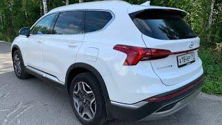 Взял Hyundai Santa Fe V6 - экономичнее 2.5! Не только по трассе