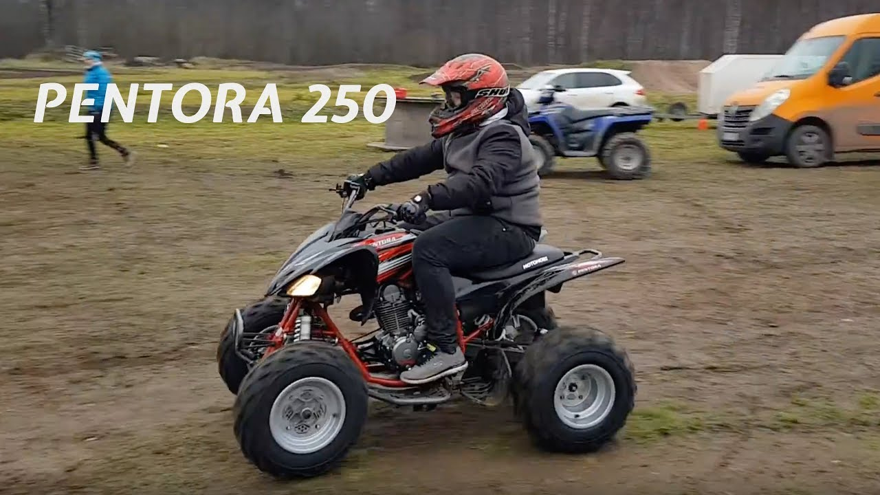 Pentora 250 Laste Atv Youtube